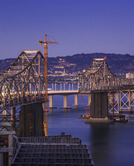 Updated Picture of the Deconstruction of the Old Eastern Span of the Bay Bridge