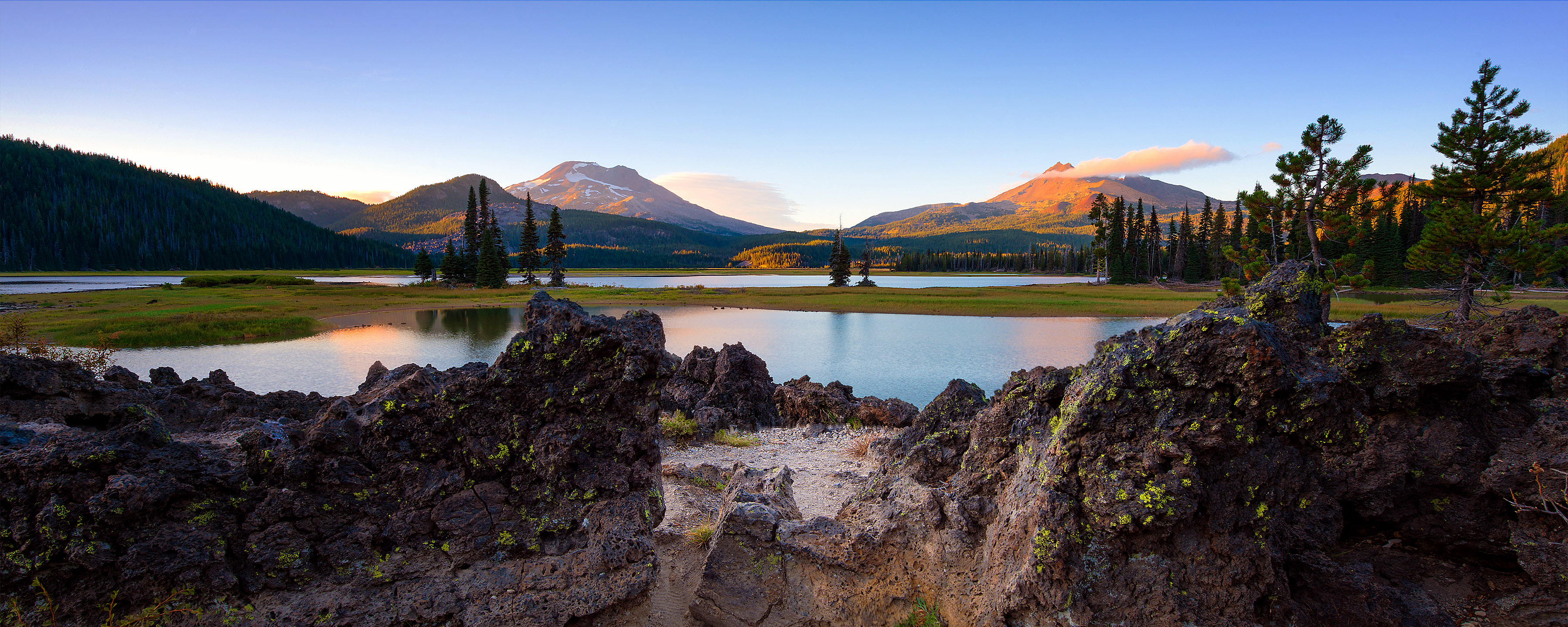 Sparks Lake Bend Oregon Gregory Chong Photography
